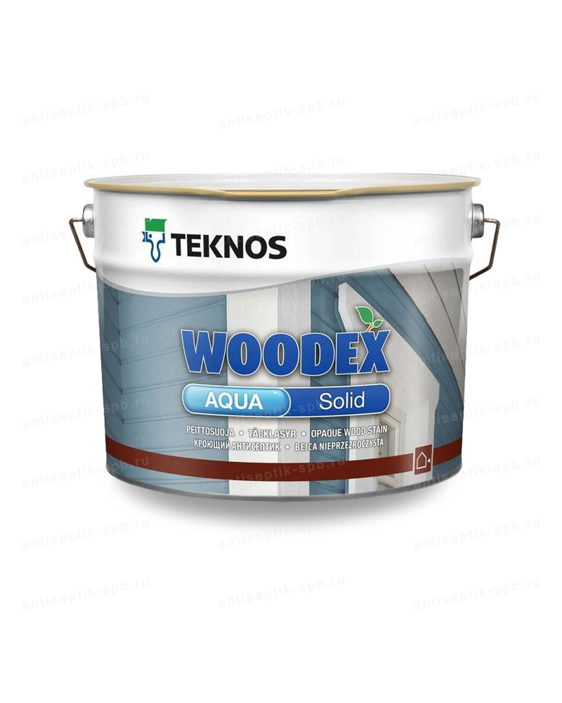 Антисептик TEKNOS WOODEX AQUA SOLID