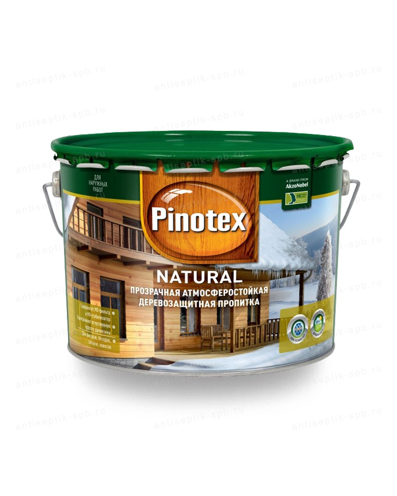 Антисептик PINOTEX NATURAL