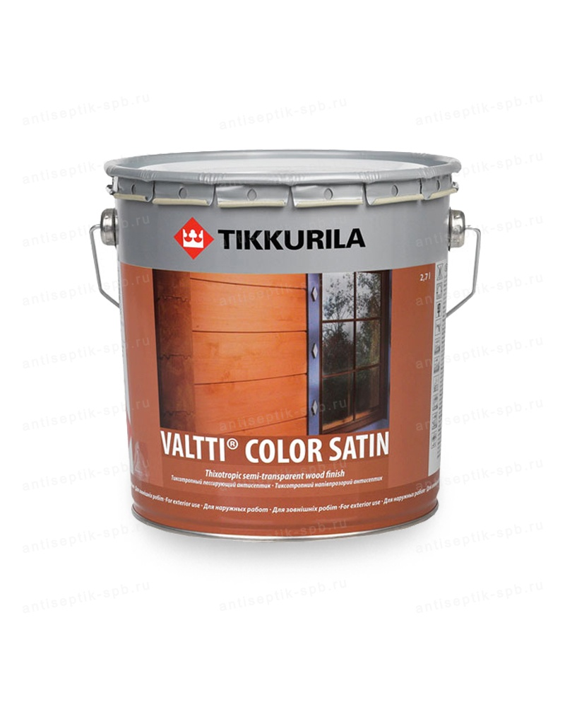 Антисептик TIKKURILA VALTTI COLOR SATIN