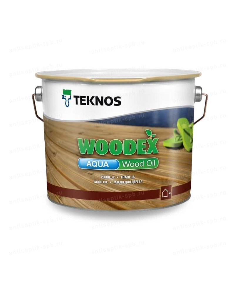 Масло TEKNOS WOODEX AQUA WOOD OIL